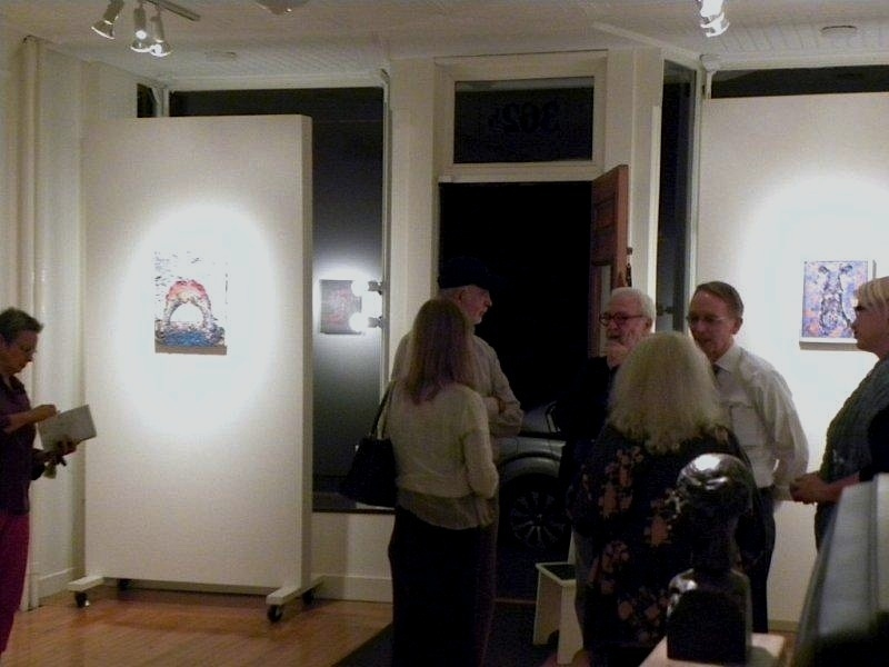 FB @ John Davis Gallery 2015 and 2012 Opening Night