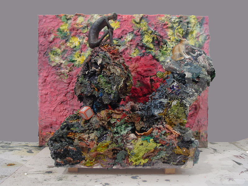 Paint Piles  Paint Pile Figure, Rabbit, Painting