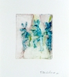 FB @ Oehme Graphics Watercolor monotype from sandpaper with handpainting.
