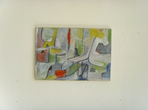 FIEROZA DOORSEN 2014 Oil and charcoal on canvas