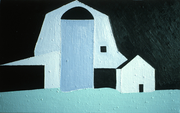 PAINTINGS 1980-1988 Strout Barn