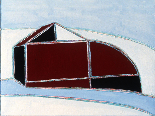 PAINTINGS 1980-1988 Red Barn