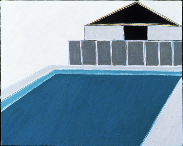 PAINTINGS 1980-1988 Berkshire Swimming Pool