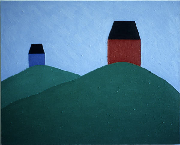 PAINTINGS 1980-1988 Houses on the Mountains