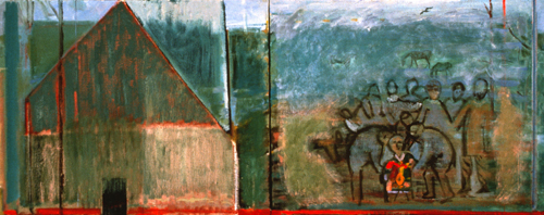 PAINTINGS 1989-1998 Joseph and His Brothers (diptych)