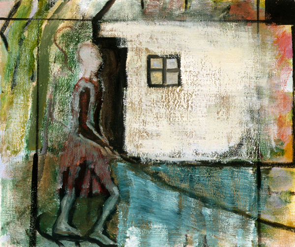 PAINTINGS 2000-2004 Woman Walking