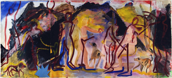WORKS ON PAPER 1990-1997 In the Mountains
