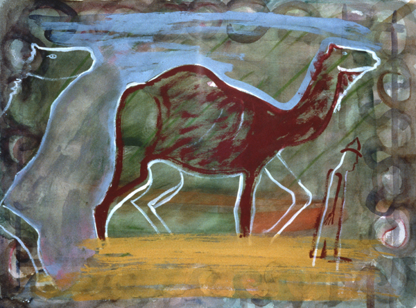 WORKS ON PAPER 1990-1997 Camel Walk
