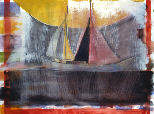 WORKS ON PAPER 1990-1997 Black Sea, Monhegan