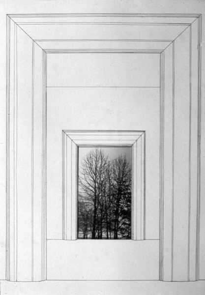 P. S.1:  (1976–1978) PHOTOGRAPHY/DRAWING/DIARY Entrance/Exit