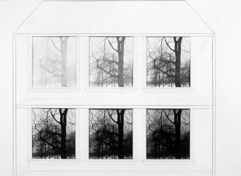 P. S.1:  (1976–1978) PHOTOGRAPHY/DRAWING/DIARY House with Six Windows:  Inside/Outside
