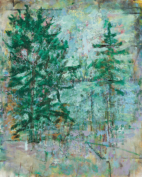 PAINTINGS 2017 Evergreens