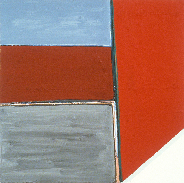 THE ABSTRACT IMAGE 1978-1988 Untitled (shaped canvas)
