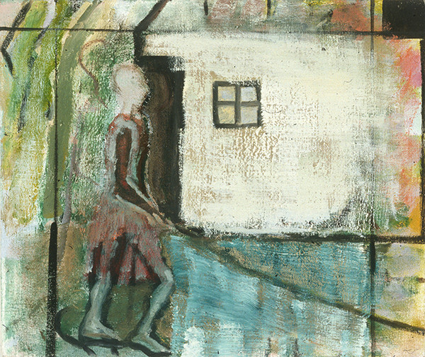 SMALL PAINTINGS Woman Walking