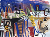 WORKS ON PAPER 1990-1997 watercolor, gouache and collage on Whatman paper