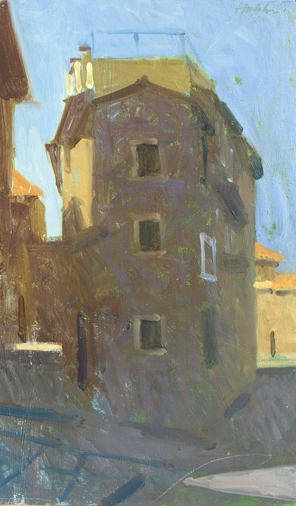 Frank Hobbs Paintings: Italy Oil on panel