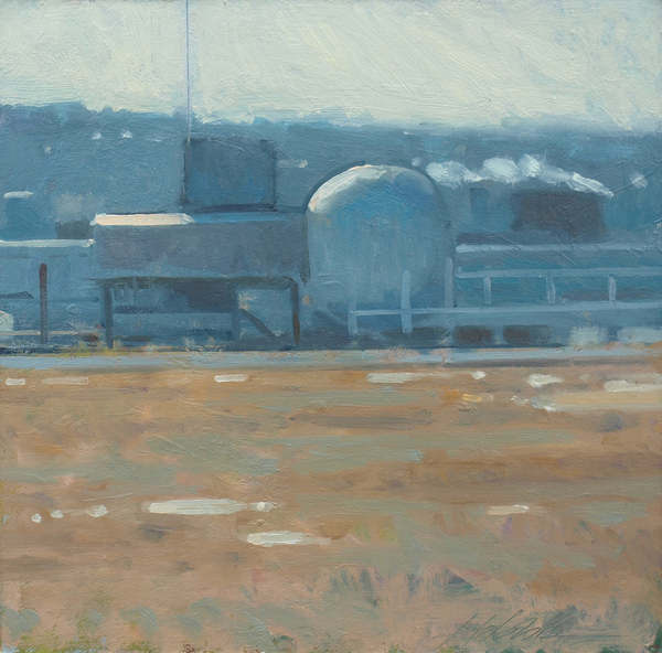 Frank Hobbs Paintings: Recent oil on panel