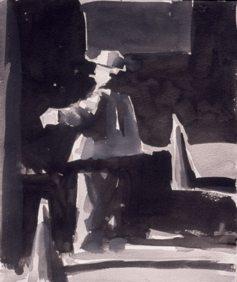 Frank Hobbs Drawings Casein on rag paper