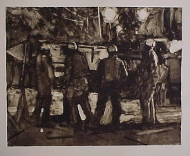 Frank Hobbs Printmaking: Monotypes Monotype