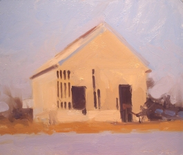 Frank Hobbs Paintings: Rural Oil on panel