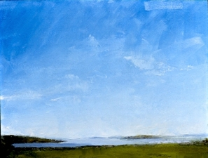 Frank Hobbs Paintings: Maine Oil on panel