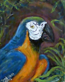 Fred Adell - Wildlife Artist Paintings Acrylic