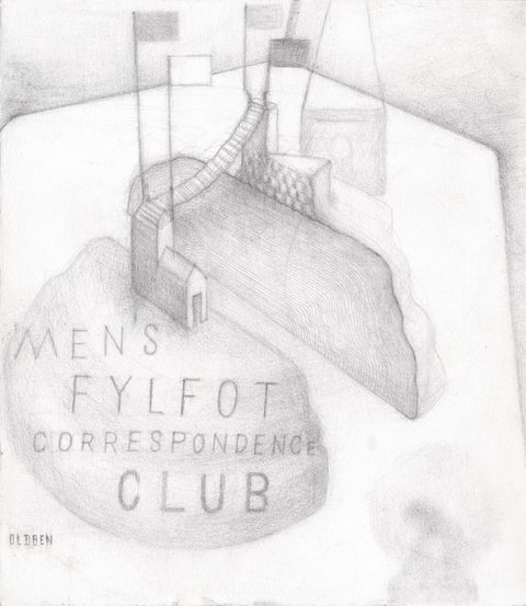 FOUR-FOOTED FELLOWS CORRESPONDENCE CLUB DRAWINGS