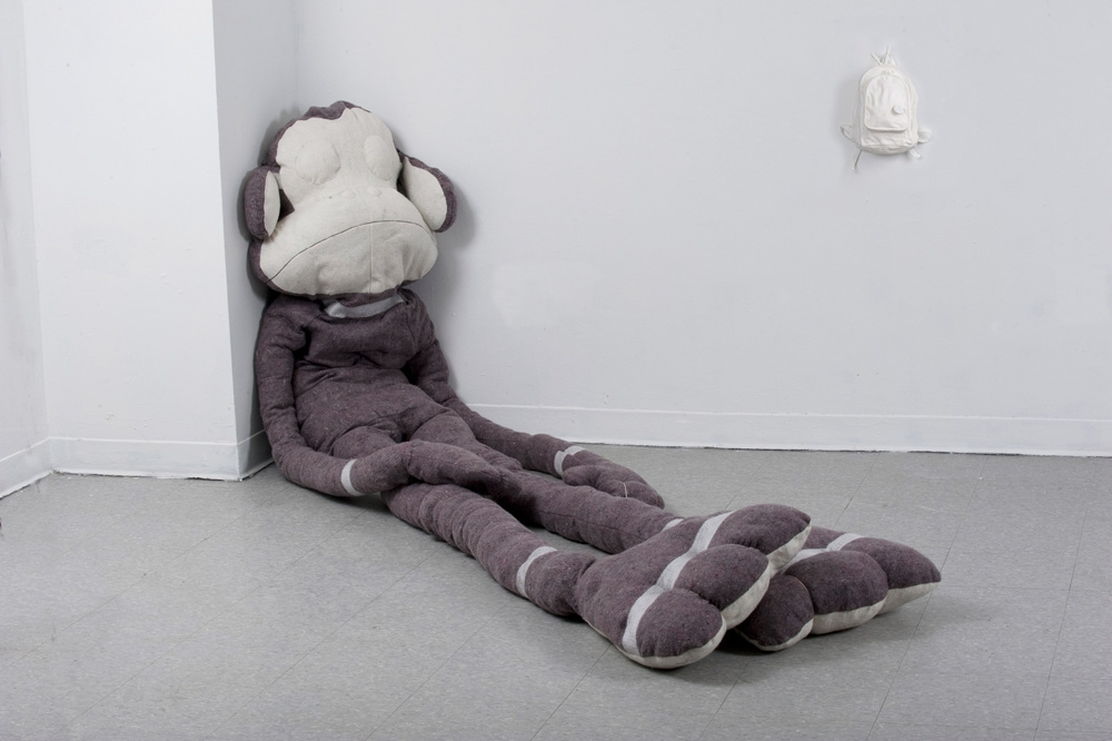"Digital Files of Artists Flavia Berindoague, ""The Monster, The magician"", monkey: 8 x 3 feet 