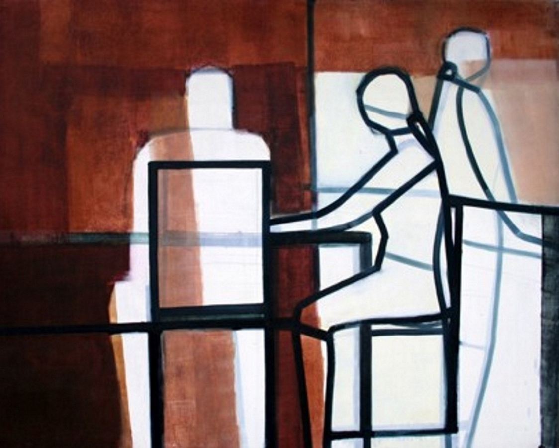 Digital Files of Artists Ewa Machnio. oil on canvas_2005