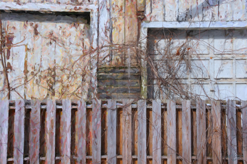 Digital Files of Artists Chip Perone, Fence and Doors, 10 x 15, digital photo, 2015