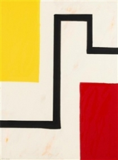 Garvey Rita  Art & Antiques Mary Heilmann Color screenprint, AP 7/7