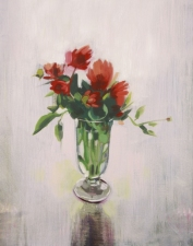 Garvey Rita  Art & Antiques Floralia: A Festival of Flowers-June 9-September 1, 2012 Oil on canvas