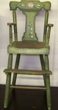 Garvey Rita  Art & Antiques 19th Century Child's Chair Wood and paint