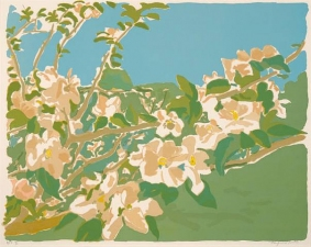 Garvey Rita  Art & Antiques Fairfield Porter (1907-1975) Seven color lithograph Ed. #15/50