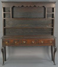 Garvey Rita  Art & Antiques 18th Century Welsh Cupboard Oak