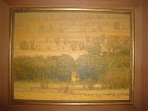 Garvey Rita  Art & Antiques Russell Chatham Oil on board
