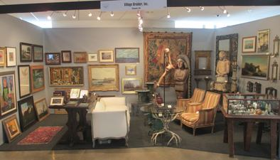 Our Booth With Village Braider Antiques At The Washington DC Winter Show January 9 11 2015