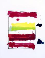 Garvey Rita  Art & Antiques Mary Heilmann Color spit bite aquatint with soft ground etching