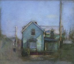 Garvey Rita  Art & Antiques Stephen Brown (1950-2009)  Oil and graphite on board