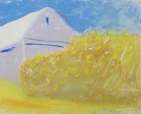 Garvey Rita  Art & Antiques Sunstruck: Selected Works-June 6, September 12, 2015 Pastel