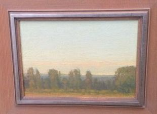 Garvey Rita  Art & Antiques Russell Chatham Oil on canvas board
