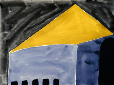 Gary Kret Paintings 1980 -1988 Water Color on Paper