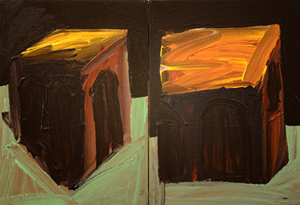 Gary Kret Paintings 1980 -1988 Acrylic on Canvas