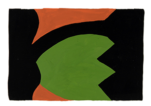 Gary Kret Paintings 1980 -1988 Gouache on Paper
