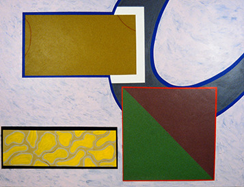 Gary Kret Paintings 1990 -1999 Acrylic on Canvas