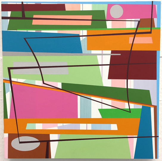 Gary Petersen PAINTINGS 2017-2010 Acrylic on wood panel