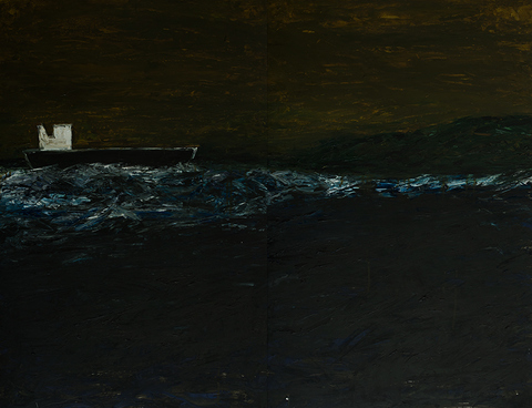 g  a  r  y    s  i  n  g  e  r seascape paintings 2014-2015 oil on paper