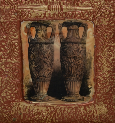 Ancient Vessels encaustic