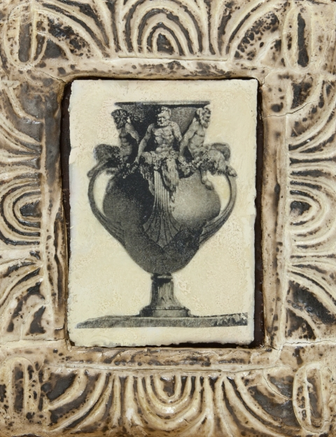 Ancient Vessels Satyr Vase