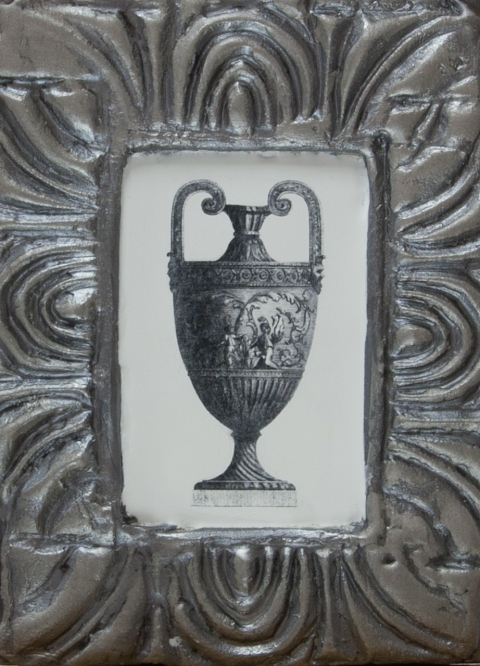 Ancient Vessels Silver Amphora